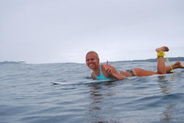 surfing la punta bocas del toro